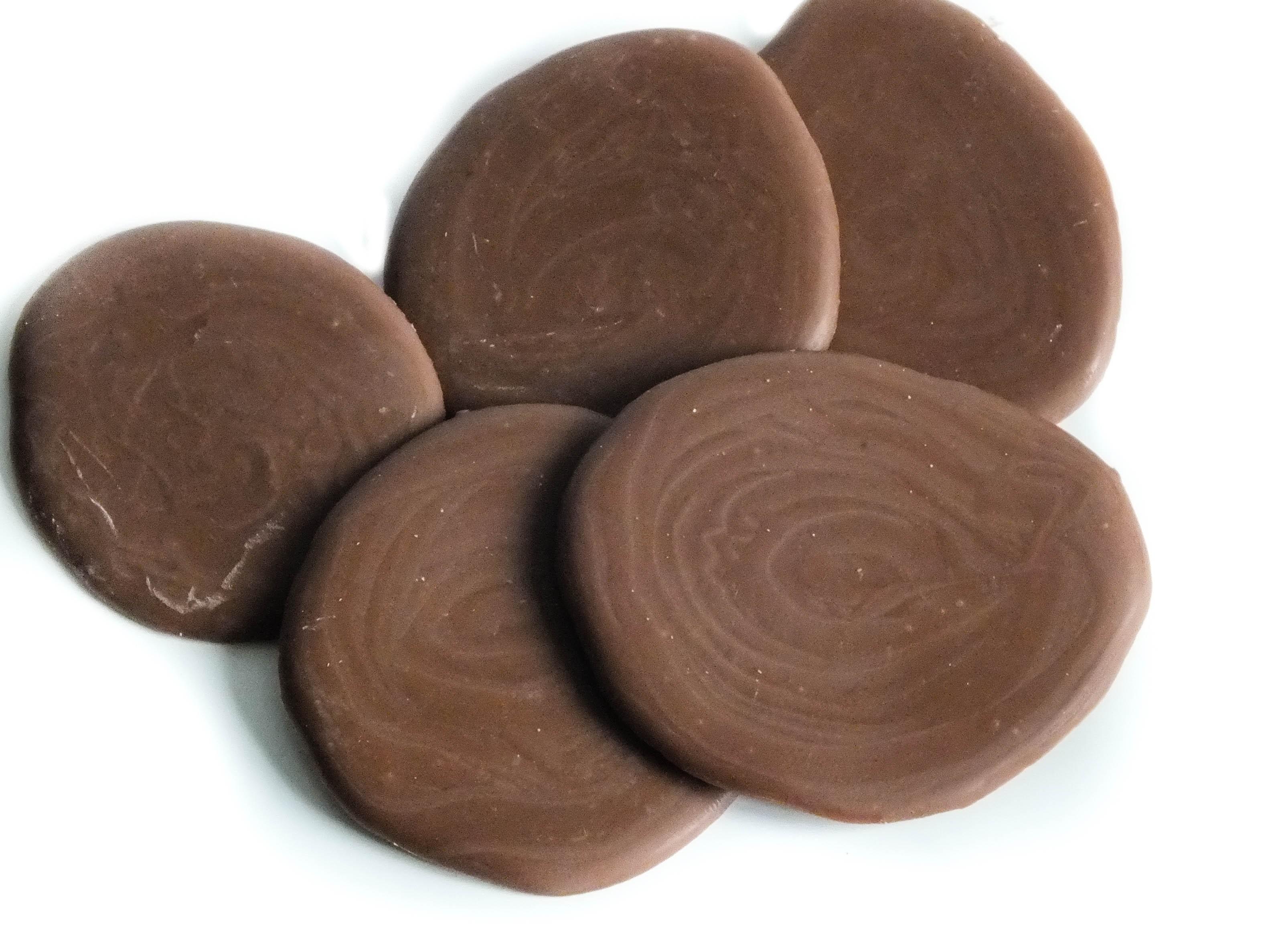 Orange Milk Chocolate Puddles